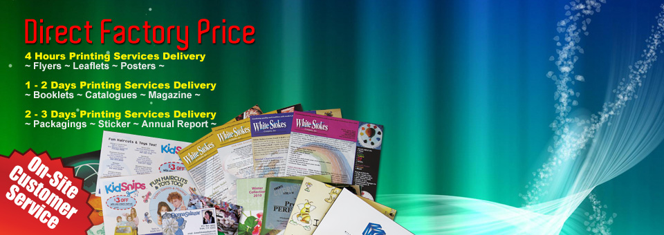 Fast Offset Printing Services