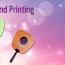 Art card Hand Fan Printing Services