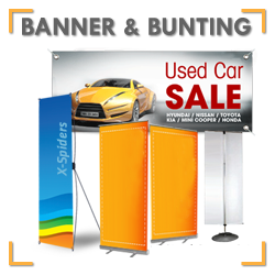 Banner & Bunting Printing Services