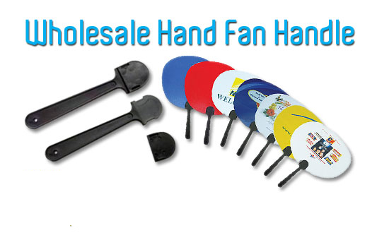Malaysia Wholesale Plastic Hand Fan Handle