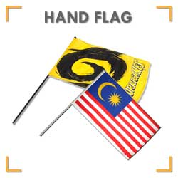 Hand Flag Printing Services