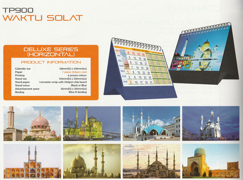 Ready Made Desktop Calender Printing Services 01