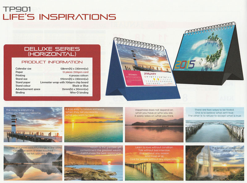 Ready Made Desktop Calender Printing Services 03