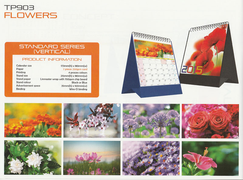 Ready Made Desktop Calender Printing Services 07