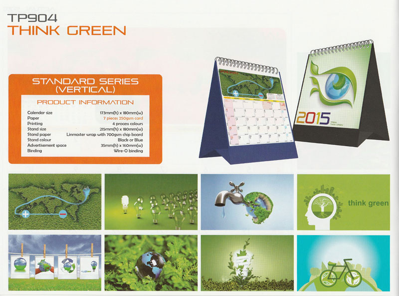 Ready Made Desktop Calender Printing Services 09