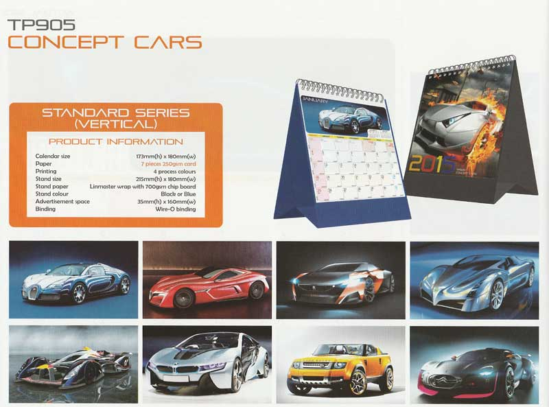Ready Made Desktop Calender Printing Services 11