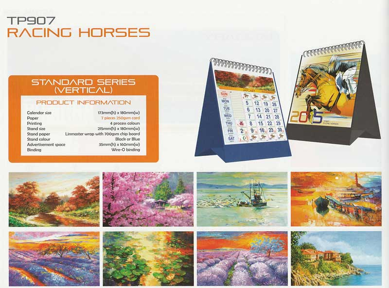 Ready Made Desktop Calender Printing Services 15