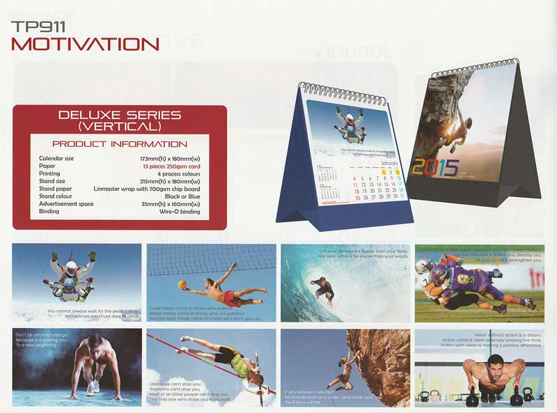 Ready Made Desktop Calender Printing Services 22