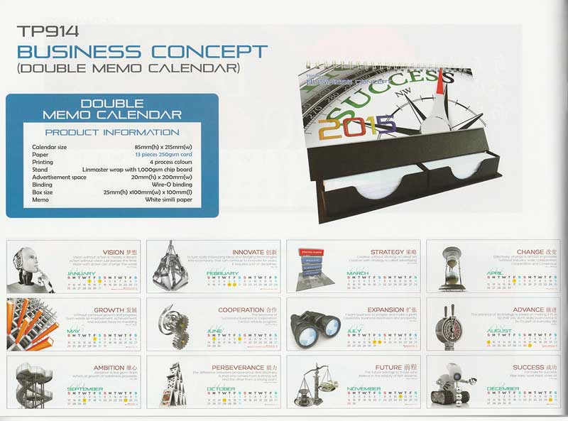 Ready Made Desktop Calender Printing Services 28
