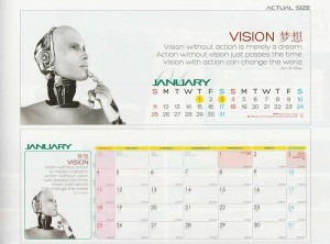 Ready Made Desktop Calender Printing Services 29