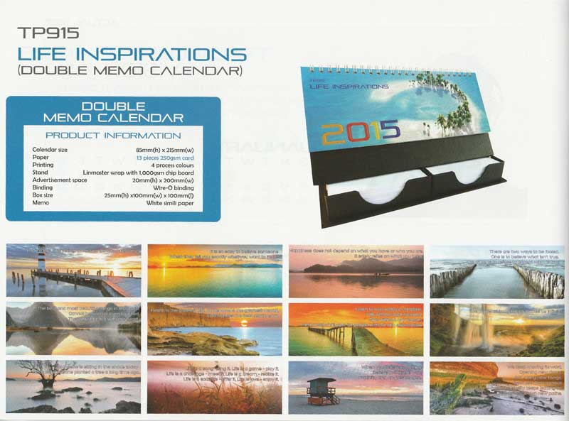 Ready Made Desktop Calender Printing Services 30