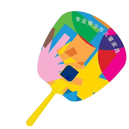 Malaysia PVC Plastic Hand Fan Printing Services