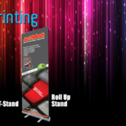 Roll Up Bunting Printing Services
