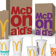 WOW! McDonad's Has New Packaging Design