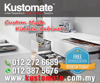 Kustomate - Custom Made Built-In Kitchen Cabinets & Wardrobe