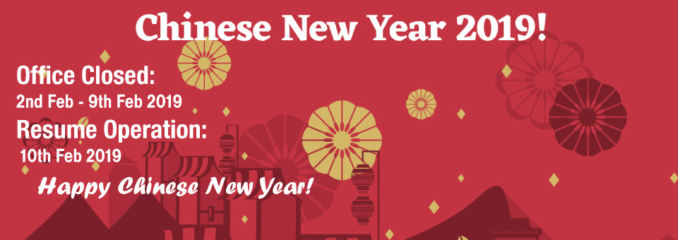 Printing Services Malaysia 2019 Chinese New Year